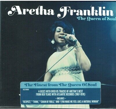 The Queen Of Soul - Aretha Franklin(4 Cd)