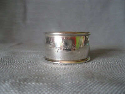 Serviettenring, England, 925 Sterling Silber, Makers Mark W.A