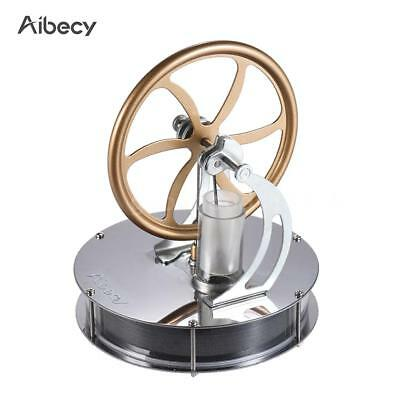 Low Temperature Stirling Engine Model Toy Hot Water Running Engine Motor U8I9