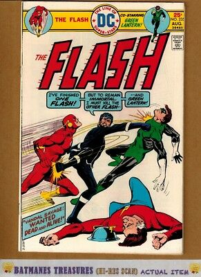 Flash #235 (8.0) VF Green Latern & Vandal Savage App 1975 Bronze Age Key Issue