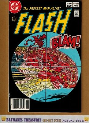 Flash #322 (9.0-9.2) NM- Reverse Flash Appearance 1983 Bronze Age Key Issue
