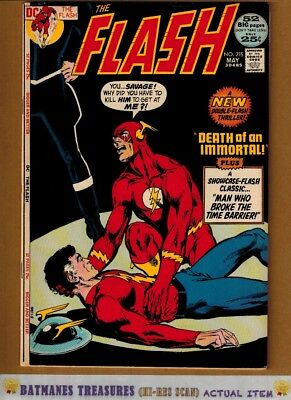 Flash #215 (5.5) Fine- Cover By Neal Adams 1972 Bronze Age Key Issue