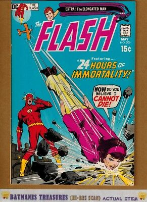 Flash #206 (9.0-9.2) NM- Cover By Neal Adams 1971 Bronze Age Key Issue