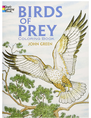 Dover Nature Coloring Book: Birds of Prey Coloring Paperback r