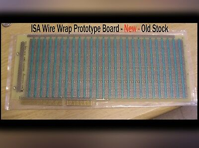 ISA Bus Wire wrap Prototype Board - New Old Stock - Vintage Computing Hobbyist