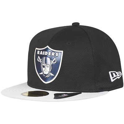 New Era 59Fifty Cap - CHROME Oakland Raiders schwarz