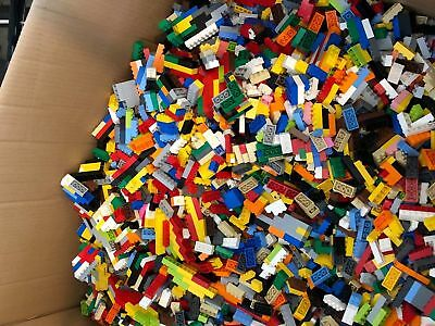 Clean 100% Genuine LEGO 1 LB Lot pounds Bulk Lot ALL blocks/sticks L@@K Read