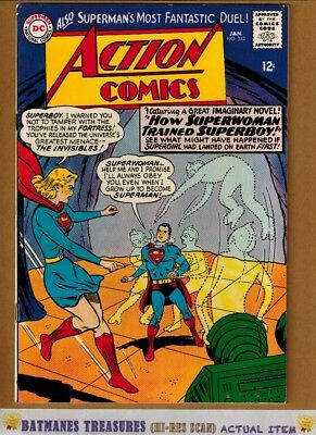 Action Comics #332 (8.5) VF+ Superman 1965 Silver Age Key Issue