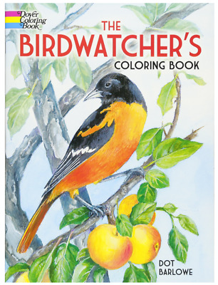 The Birdwatcher's Coloring Book (Dover Nature Coloring Book) Paperback – Novembe