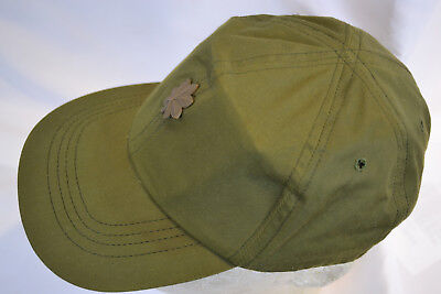Original Issue Us Army Officer Field Cap Hat Named To Major Olive Camouflage