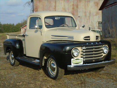 1950 Ford 1/2 Ton Pickup  1950 Ford  F1 Regular Cab Short Bed Truck, Rotisserie Restoration Just Completed