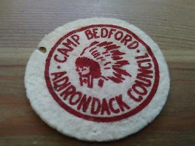 Vintage Boy Scouts Of America Bsa Patch Camp Bedford Adirondack Council