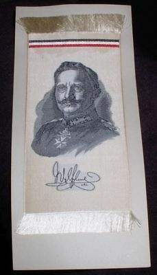 early German bookmark Kaiser Wilhelm 1914 Paterson New Jersey made