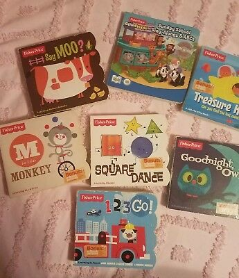 Fisher Price Books Lot with 7 books!
