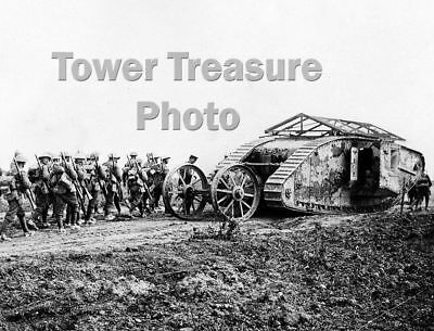 World War I  ***  MK. I TANK  C19  ***  1916   Photo Print (8.5 x 11)
