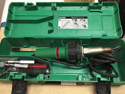 Leister Triac ST Handheld Plastic Welder 120V / 1600 W, in case 141.228