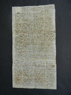 1777 American Revolutionary War Military Document About Conscientious Objectors