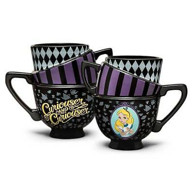 Alice In Wonderland Stacked Mug Collectible Disney Official Edition Rare Tea