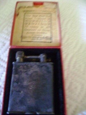 Vintage Beacon Lighter Dunhill's Benzique 25 Cent Orig. Price