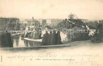 13096236 Paris Les Buttes Chaumont Belvedere Paris