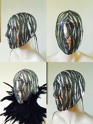 Haute Couture Mask Masquerade mask full head Face mask full face coverage