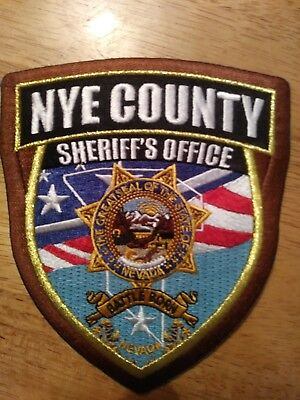 police patch nye county live PD
