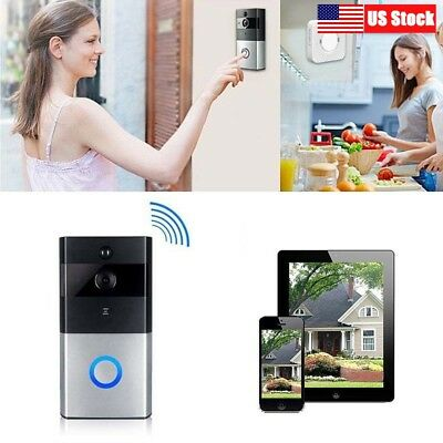 Smart Video Doorbell Outdoor Home Camera HD Wireless Security APP Door Bell US