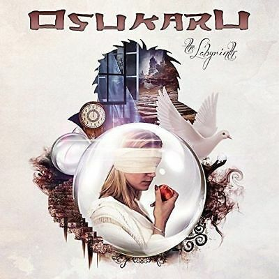 Osukaru - The Labyrinth cd 2017 Melodic Aor Hard Rock Glory Ten Saraya