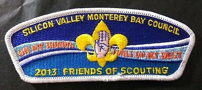 Vintage BSA Silicon Valley Boy Scouts Friends of Scouting On My Honor Patch