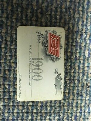 Saint Paul And Duluth Railroad 1900 Pass