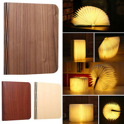 For Decor/Home/Office Table Lamp Folding Rechargeable Book Light LED Outdoor