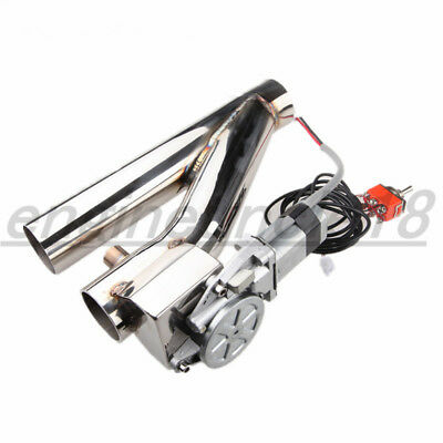 """2""""/2.5''/3''/3.5'' Exhaust Downpipe Testpipe Catback Electric Exhaust Cutout Kit"""