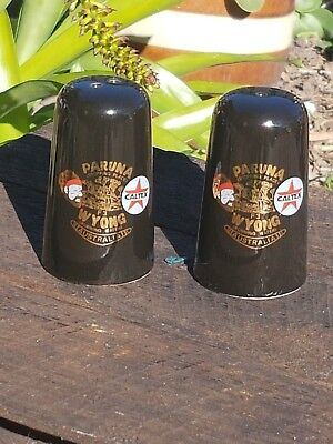 Caltex collectable Salt And Pepper Shakers