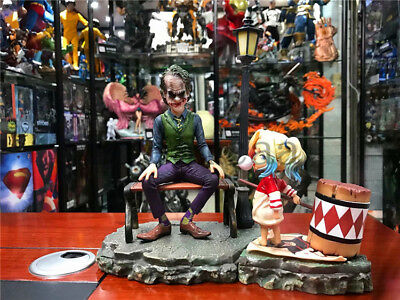 The Joker Baby Harley Quinn PVC Scene Collectibles Statue Batman Action Figure