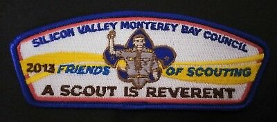 Vintage BSA Silicon Valley Monterey Boy Scouts Friends Scouting Reverent Patch