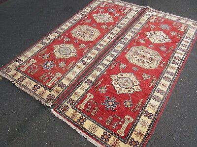 Turkish Rug, Persian Afghan Rug, Vintage Nomadic Rug, Wool Hand-Made PAIR cm