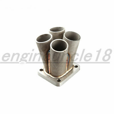 Stainless Steel 4-1 4 Cylinder Manifold Header Merge Collector T4 Flange