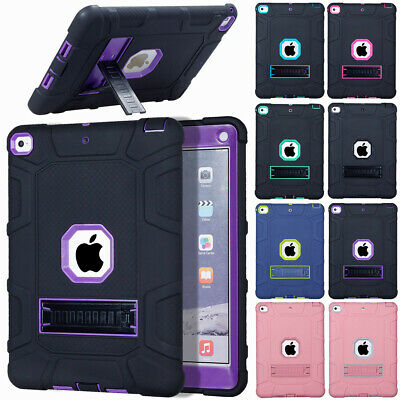 """For New iPad 6th Gen 9.7"""" 2018 A1893 A1954 Shockproof Military Case Cover Stand"""