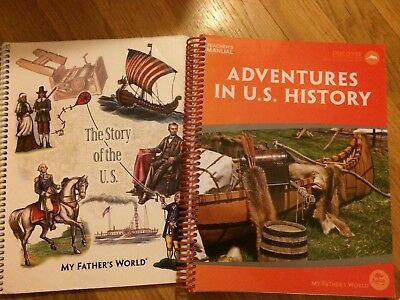 Adventures in U.S. History MFW My Father's World & The Story of the U.S.