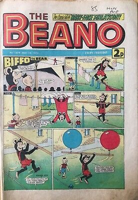 The Beano Comic, Issue No.1659 - May 11Th 1974