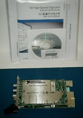 NI PXI-5122 2ch 14bit 32MB/ch Digitizer Scope, National Instruments *Tested*