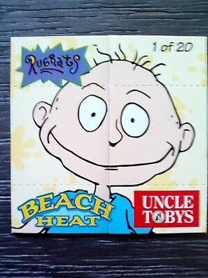 1997 Nickelodeon 'beach Heat' Characters Fold Out Comics - Tommy Pickles/rugrats