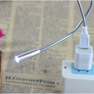 Snaky Flexible Mini Travel Bendable Table Lamp USB Light LED Night Light