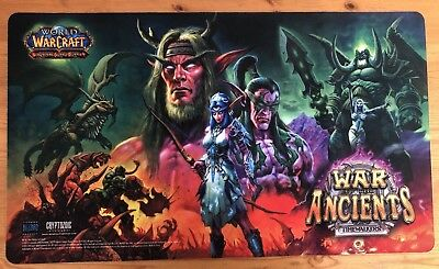 World of Warcraft WoWTCG War Of The Ancients Playmat