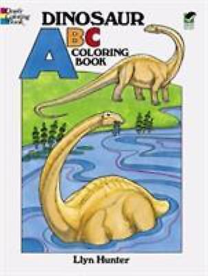 ABC Coloring Book Dinosaur For Kids Children Fun Paperback r
