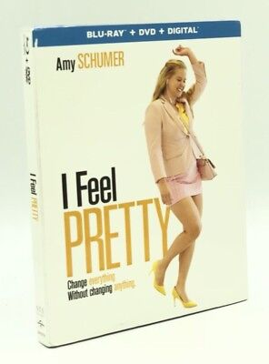 I Feel Pretty (Blu-ray+DVD+Digital, 2018) NEW w/ Slipcover: Amy Schumer