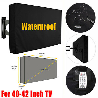 40-42 Inch TV Cover Dustproof Waterproof Outdoor Patio Television Protector Case