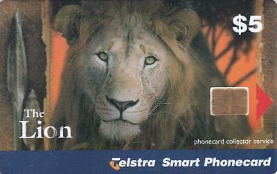 Telstra  Collector Service  Big Cat Series Lion Perfect Mint  H93