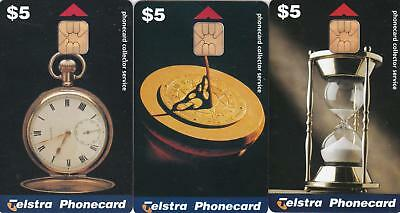 Telstra  Collector Service  Time Pieces  Scarce In Perfect Mint  H103
