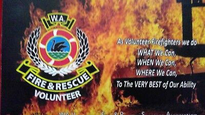 W.a Fire & Rescue Volunteer Mouse Pad